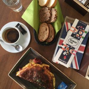 Snídaně v Breakfast Clubu