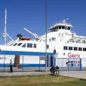 Trajekt v Cuxhavenu