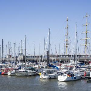 Přístav v Cuxhavenu