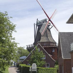 Větrný mlýn po cestě do Hamburku