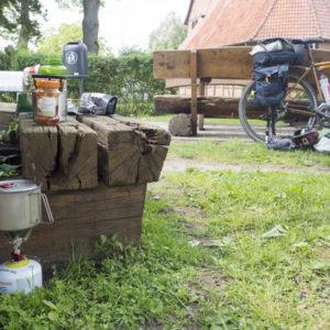 Před Dömitzem zastavuju na oběd