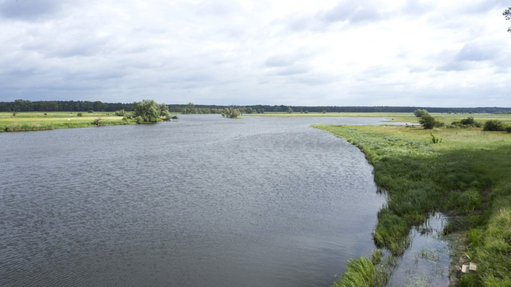 A place where Havel river flows into the Elbe