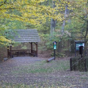 The shelter at Herinky hill