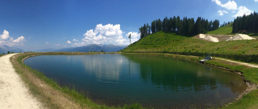 Panoramasee nad Innsbruckem — Crankworx Innsbruck 2017