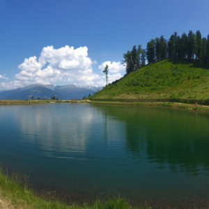 Panoramasee nad Innsbruckem