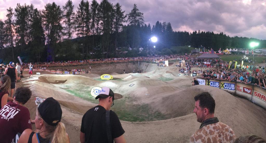 Pump track — Crankworx Innsbruck 2017
