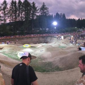 Pump Track Crankworx Innsbruck 2017