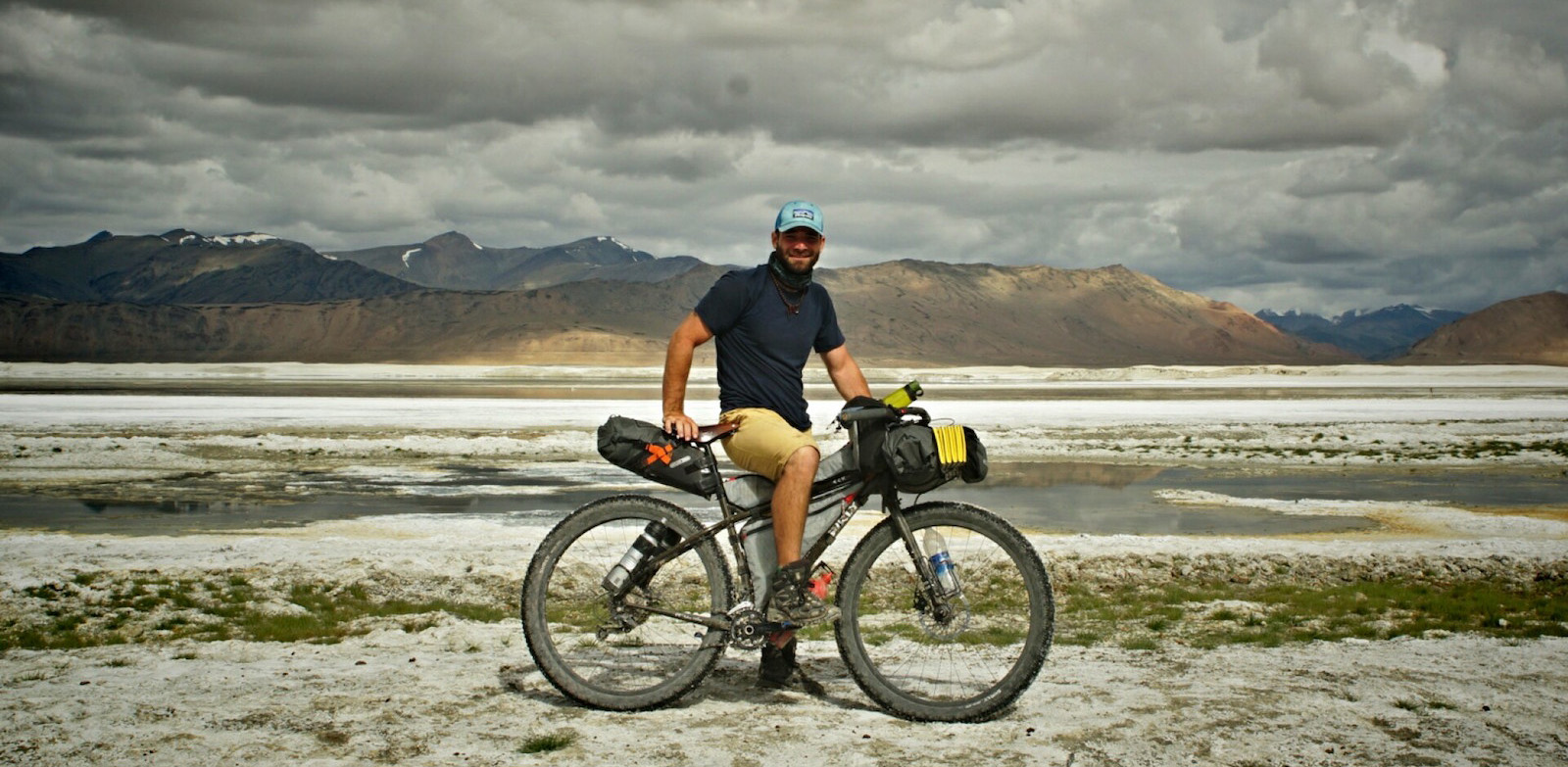 Jan Žďáňský a jeho bikepacking v Ladaku